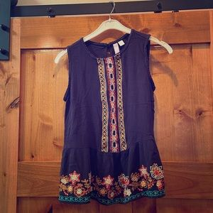 Alya by Anthropologie Bohemian top